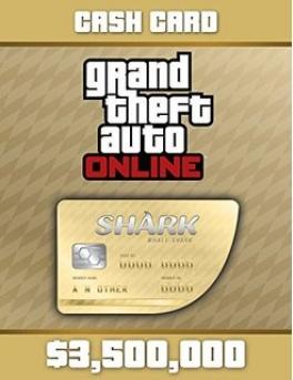 Grand Theft Auto V GTA: Whale Shark Cash Card - PC